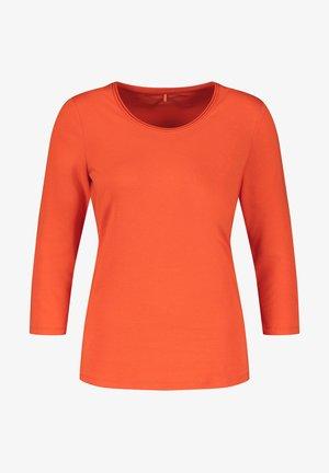 3/4 ARM  - Long sleeved top - pumpkin