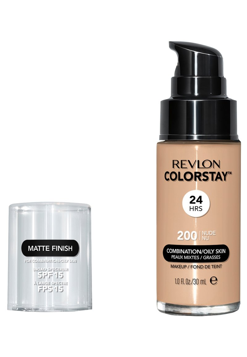 Revlon - COLORSTAY MAKE-UP FOUNDATION FOR OILY/COMBINATION SKIN - Foundation - N°200 nude