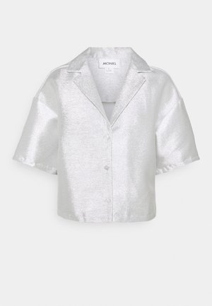 FANNY BLOUSE - Skjorta - silver