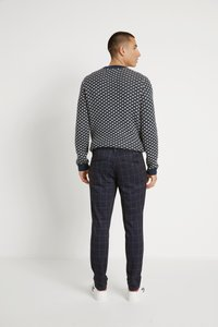 Only & Sons - ONSMARK PANT CHECK - Pantalon classique - dark navy - 2