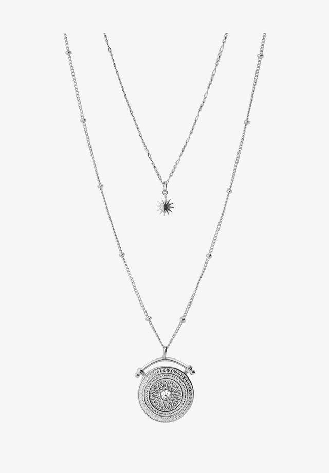 AMULET  - Necklace - plata