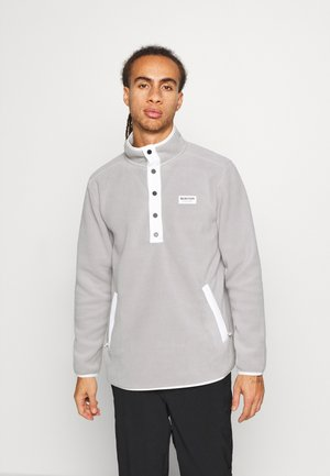 HEARTH - Fleece jumper - iron gray