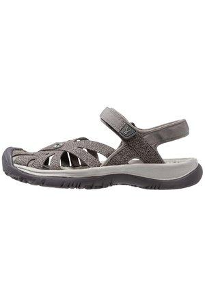 ROSE - Walking sandals - gargoyle/raven