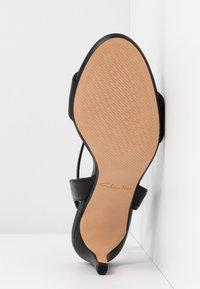Clarks - AMALI JEWEL - Sandals - black - 6