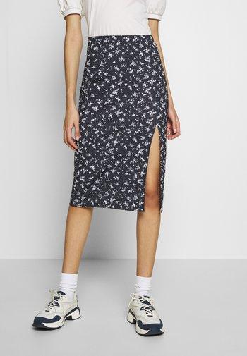 PRINT SLIT SKIRT - Falda de tubo - multi coloured