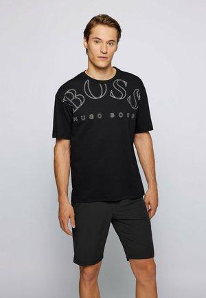 TALBO - Print T-shirt - black