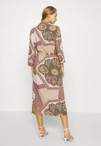 Object - OBJSUN LONG DRESS - Sukienka letnia - burnt olive - 2