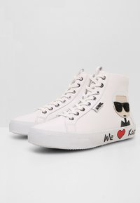 KARL LAGERFELD - SKOOL IKONIC LACE - High-top trainers - white - 4