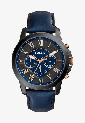 Chronograph watch - blue