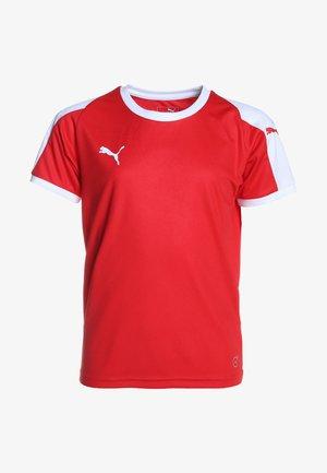 LIGA  - Funkční triko - puma red/puma white