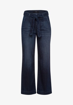 Straight leg jeans - mid blue authentic wash