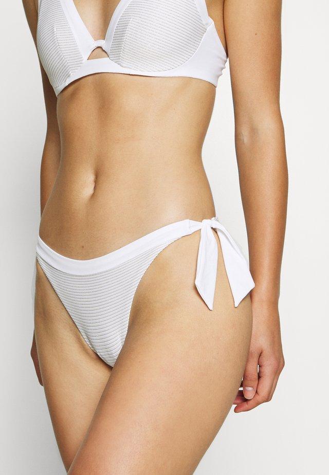 VIBRANT SLIP - Bikini bottoms - white