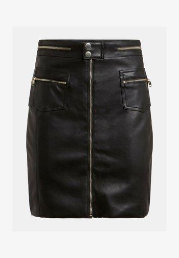 MINIROCK - Pencil skirt - schwarz
