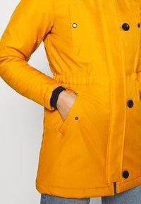 ONLY - ONLIRIS - Winter coat - golden yellow - 6