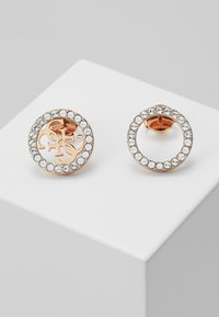 Guess - EQUILIBRE - Earrings - rose gold-coloured - 0
