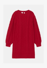 GAP - GIRL CABLE - Jumper dress - modern red - 0