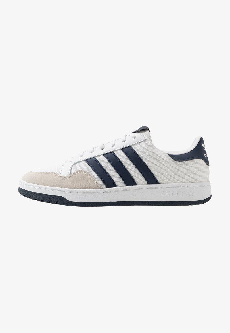 adidas Originals - TEAM COURT - Baskets basses - footwear white/collegiate navy