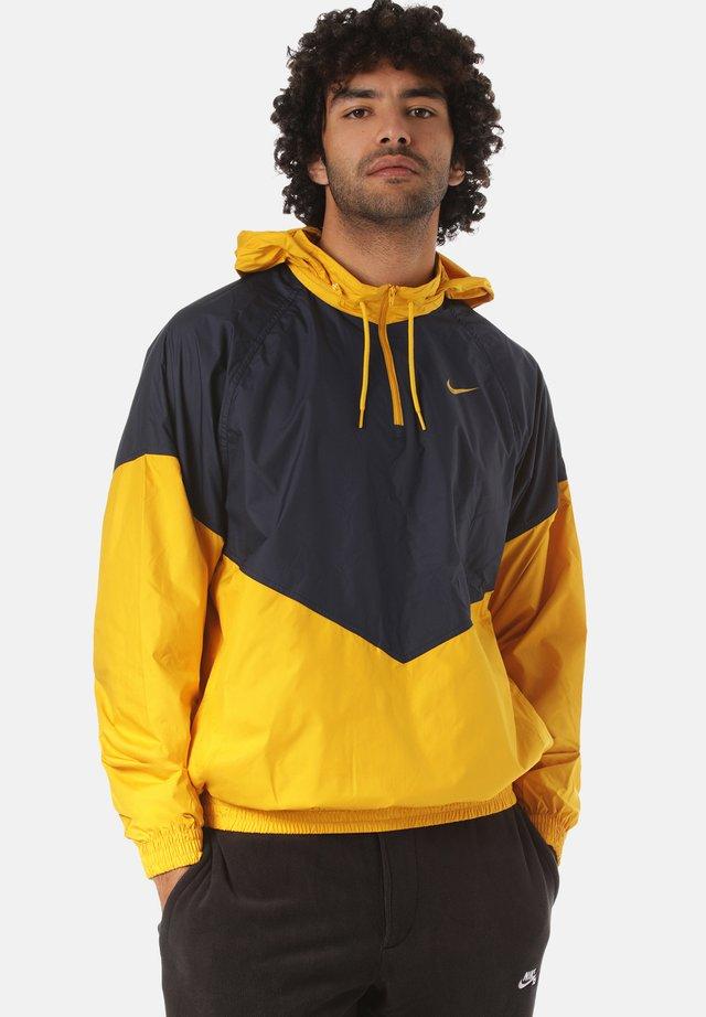 Leichte Jacke - blue/yellow
