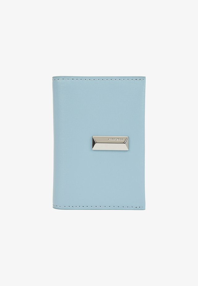 NATHALIE  - Business card holder - light blue