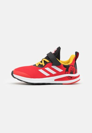 FORTARUN MICKEY UNISEX - Neutral running shoes - vivid red/footwear white/core black