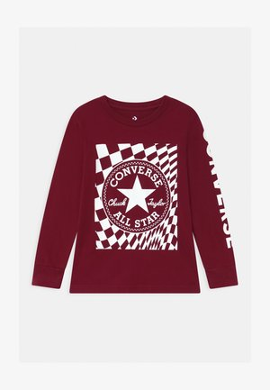 CHUCK PATCH GRAPHIC  - Long sleeved top - team red