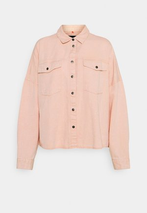NMRICA OVERSIZE ACID - Button-down blouse - misty rose