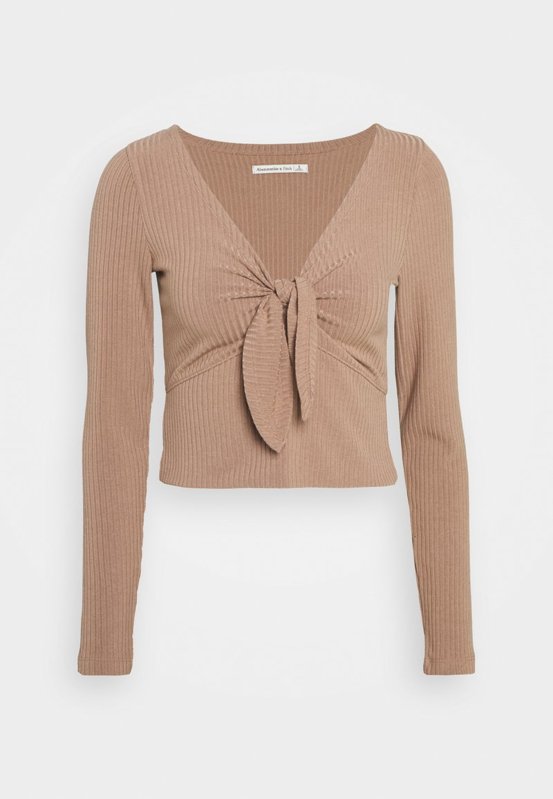 Abercrombie & Fitch - Long sleeved top - brown