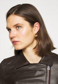 Oakwood - MARJORY - Leather jacket - dark brown - 3