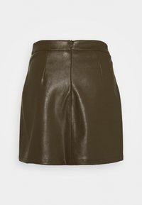 Glamorous Petite - LADIES SKIRT  - Mini skirt - khaki - 1