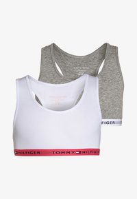 Tommy Hilfiger - BRALETTE ICONIC 2 PACK - Bustier - white - 0