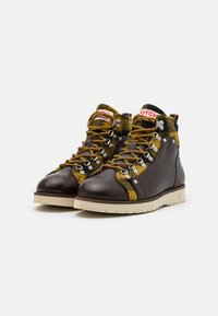 Scotch & Soda - LEVANT - Lace-up ankle boots - dark brown - 1