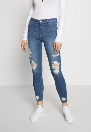 Slim fit jeans - medium destroy