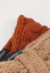 Even&Odd - 2 PACK - Nauszniki - beige/orange - 2