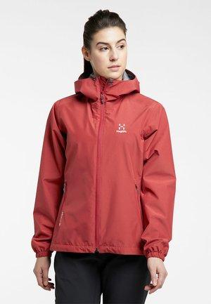 BETULA GTX JACKET - Hardshell jacket - brick red