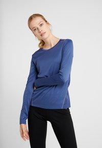 Diadora - X RUN - T-shirt à manches longues - night blue - 0
