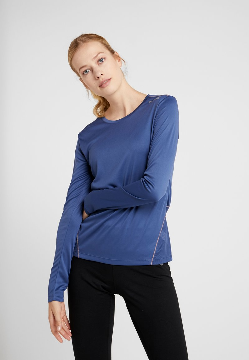 Diadora - X RUN - T-shirt à manches longues - night blue