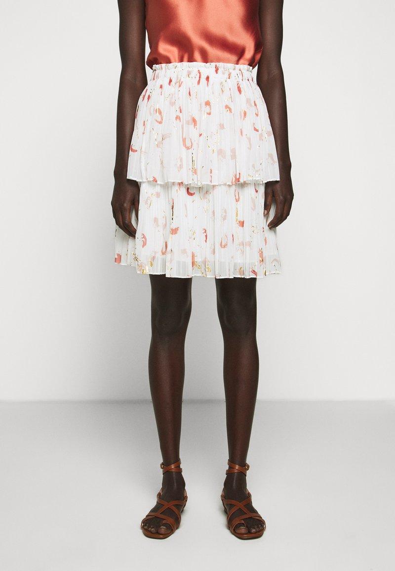 Bruuns Bazaar - ESMINA SKIRT - A-line skirt - brush artwork