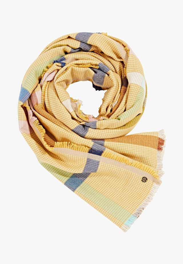 Scarf - brass yellow