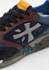 Premiata - ZAC-ZAC - Trainers - dark blue/red