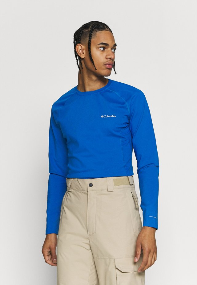 OMNI HEAT CREW - Camiseta interior - bright indigo