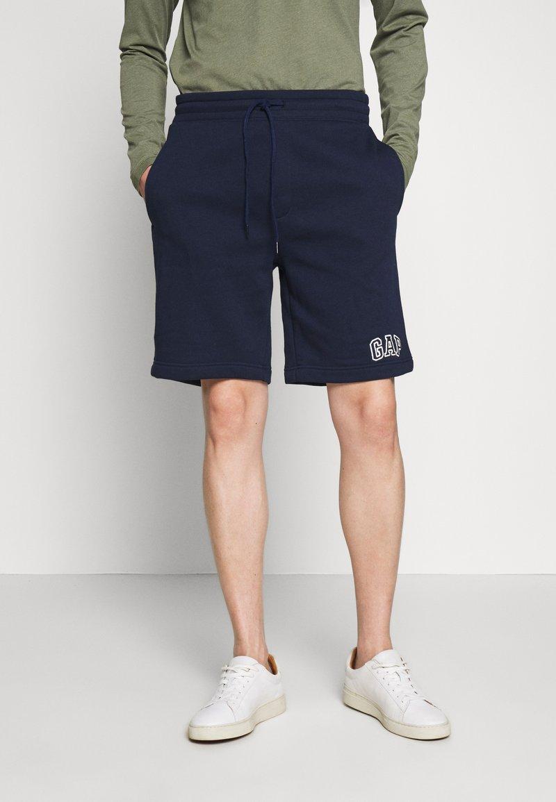 GAP - NEW ARCH LOGO - Teplákové kalhoty - tapestry navy