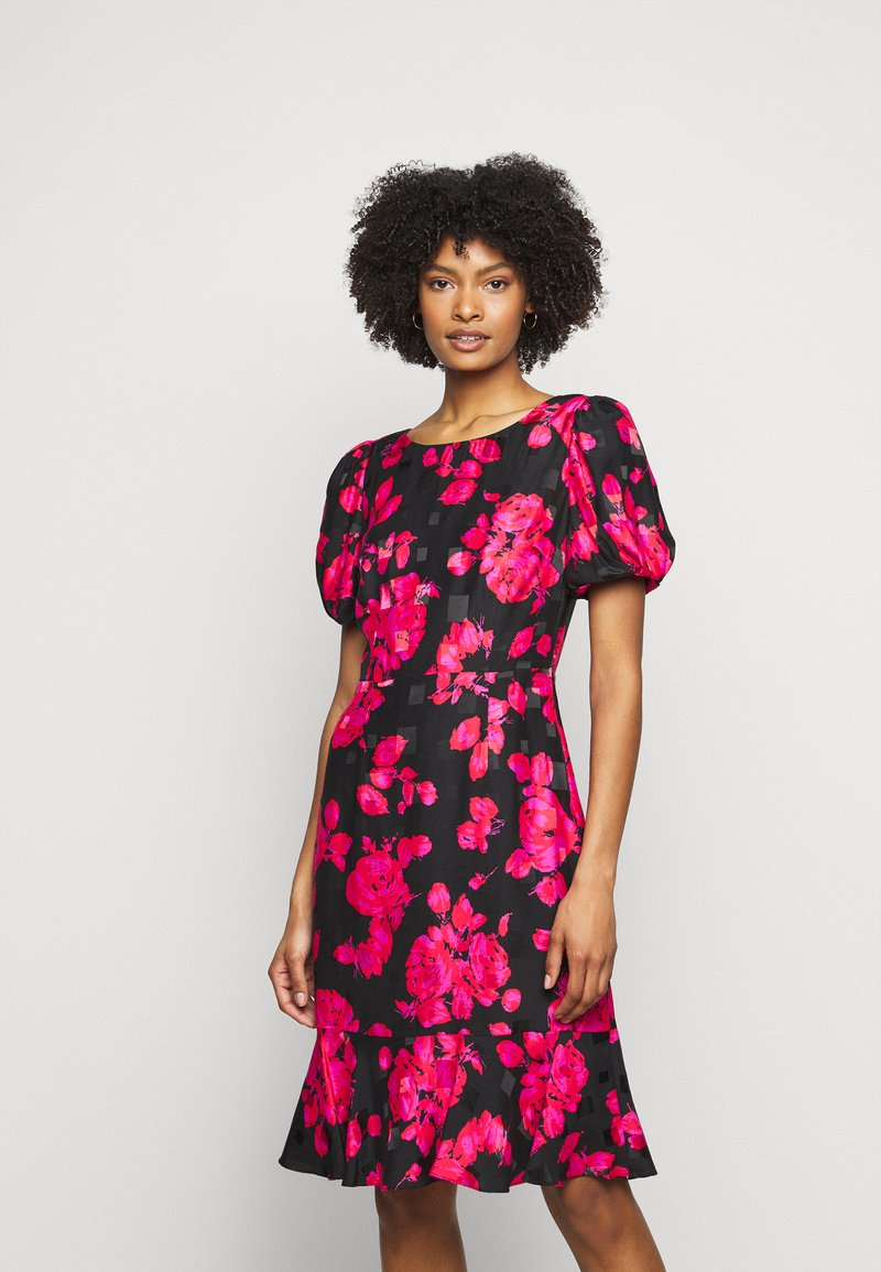 Milly - KATIA ROSE ON DRESS - Day dress - black/red