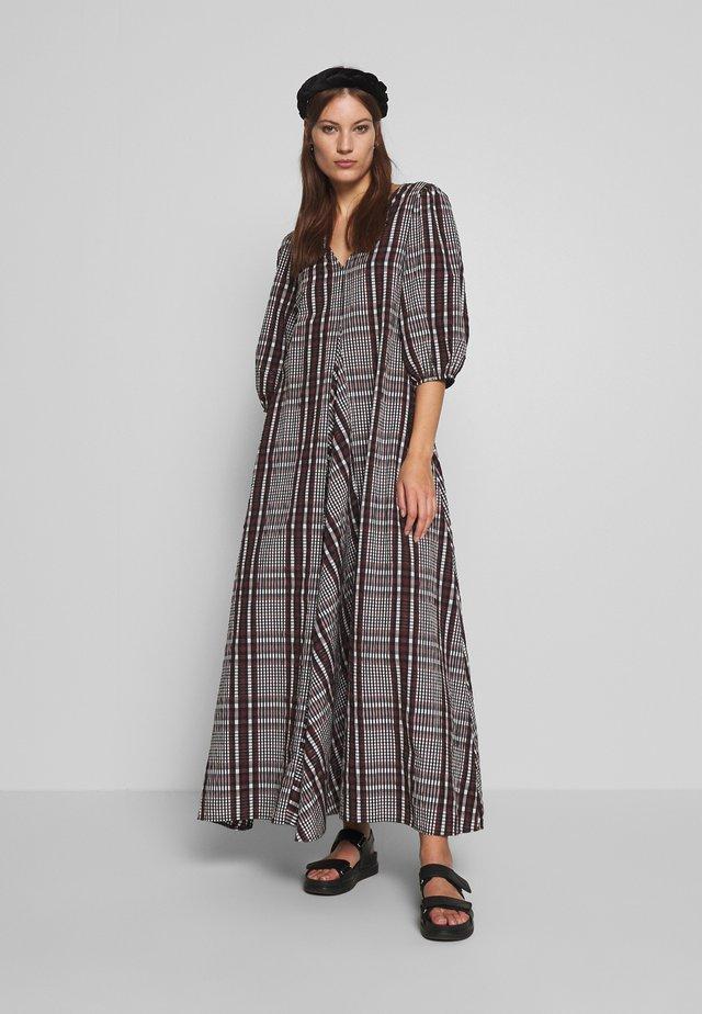 EMILY LONG DRESS - Maxi dress - henna