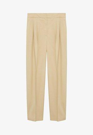 ZAHARA - Trousers - zand