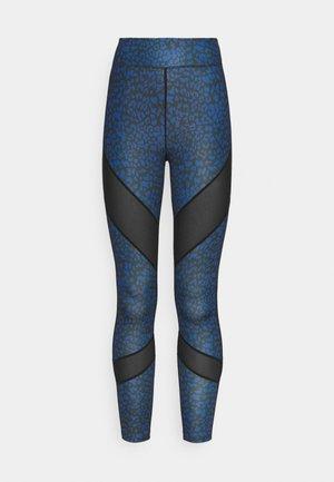 Leggings - blue/black