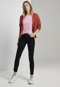 TOM TAILOR DENIM - SLUB  - Print T-shirt - pink - 1
