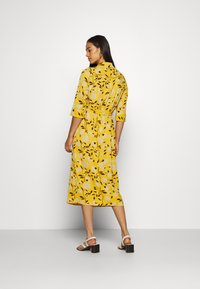 ONLY - ONLNOVA LUX DRESS - Day dress - golden yellow/white - 2