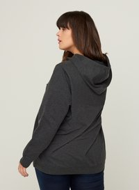 Zizzi - MIT KAPUZE - Sweatshirt - black - 2