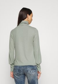 New Look - COSY ROLL NECK - Long sleeved top - light khaki - 2