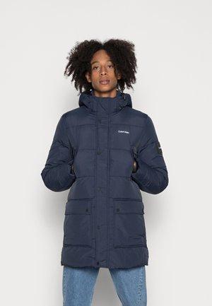 CRINKLE LONG LENGTH - Winter coat - calvin navy